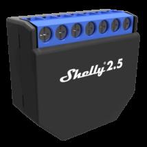 """<strong>Shelly 2.5</strong><br><p style=""""font-size:0.8EM"""">Kétcsatornás, redőnyvezérlésre is alkalmas okosvezérlés - beépített áramfogyasztás-mérővel</p>"""