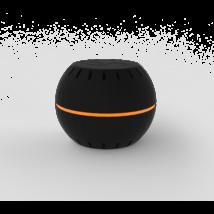 Shelly H&T Wi-Fi-s páratartalom és hőmérséklet szenzor Fekete