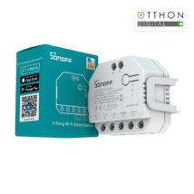 Sonoff Dual (R3) WiFi-s okosrelé, két áramkörös, redőnyvezérléssel