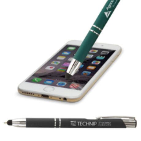 Soft Touch Stylus Pen Érintőképernyő ceruza 2in1 (toll + kapacitív érintőceruza)