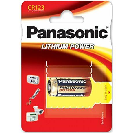 CR123 Panasonic lítium elem