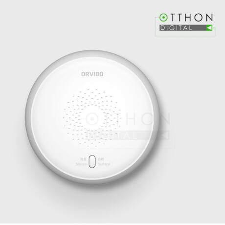 Intelligens ORVIBO füstérzékelő érzékelő, okostelefon-vezérlés, Wi-Fi, ZigBee, SF30