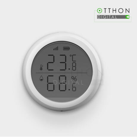 Intelligens érzékelő a páratartalom és a hőmérséklet érzékeléséhez ORVIBO, Wi-Fi, ZigBee, ST30