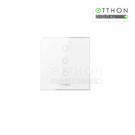ORVIBO Smart Switch, C-touch, ZigBee, Wi-Fi, jelenet opció, telefonos vezérlés, 2,4 GHz, Google Assistant, Amazon Alexa, T30S3Z