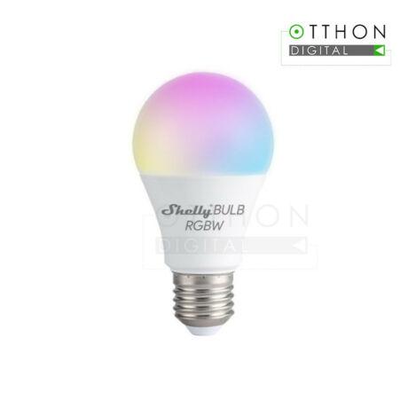 Shelly Duo RGBW (E27) WiFi-s, fénymelegség- és fényerő-szabályozható fehér + színes okosizzó