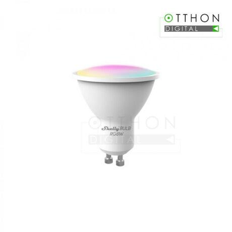Shelly Duo RGBW (GU10) WiFi-s, fénymelegség- és fényerő-szabályozható fehér + színes okosizzó