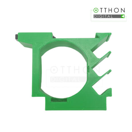 DIN sín tartó / adapter Shelly 1 vagy Shelly 1PM relékhez + Shelly hőmérséklet adapterhez
