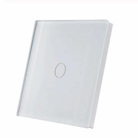 <strong>SmartWise T1R1</strong><br>(Sonoff kompatibilis) vezeték nélküli, RF (rádiós), alternatív / keresztváltó kapcsoló / fali RF távirányító (fehér)