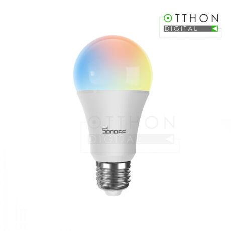 Sonoff B05-B-A60 RGBW (fehér és színes) fényű WiFi-s LED okosizzó (E27 foglalathoz)