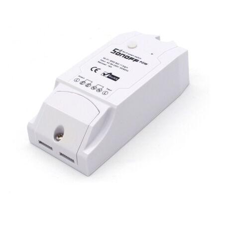 Sonoff POW - WiFi vezeték nélküli intelligens kapcsoló fogyasztásmérővel