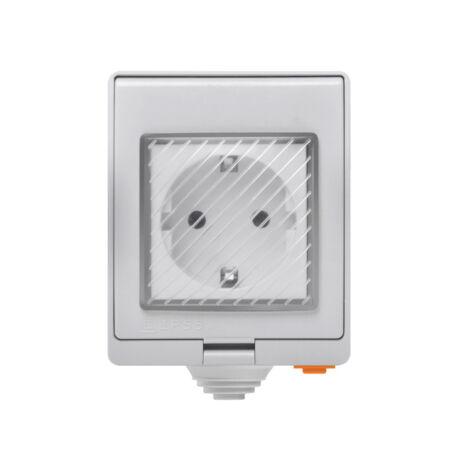 Sonoff S55 » Kültéri vízálló (IP55) WiFi vezeték nélküli intelligens okoskonnektor aljzat 16A